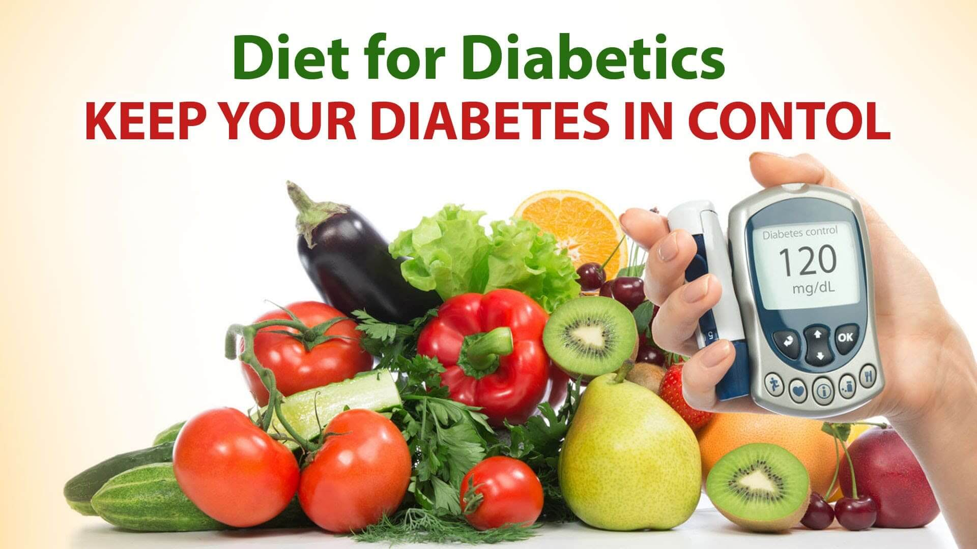 Diabetic diet: guidelines for healthy eating