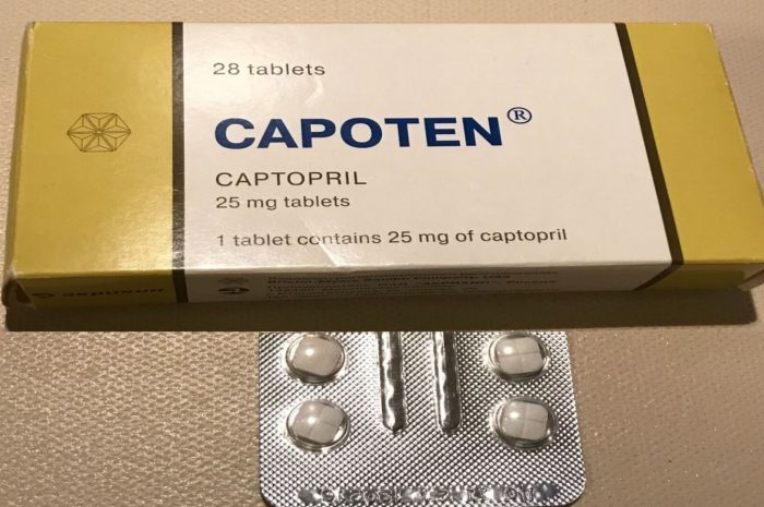 Capoten – an effective medicine for the treatment of diabetic nephropathy